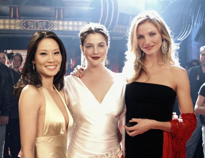 KJENT TRIO: Lucy Liu, Drew Barrymore og Cameron Diaz spilte alle i «Charlie's Angels». Her i 2003. Foto: Columbia / Kobal / Rex / Shutterstock / NTB