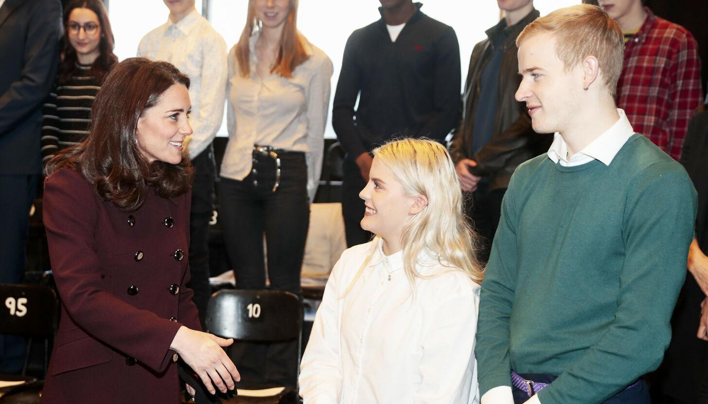 ROJALT MØTE: Carl Martin Eggesbø har møtt hertuginne Kate i Norge tidligere. Se og høre avslører detaljene. FOTO: Lise Åserud