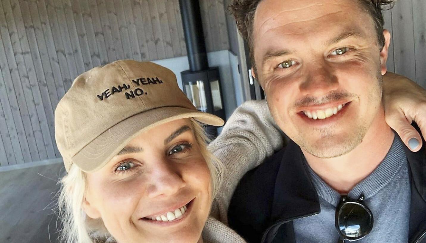 NYTT LIV I NYTT HJEM: I Pluss-artikkelen kan du se hvordan Ina Wroldsen og ektemannen Mark Ellwoods nye hjem ser ut - etter at de har flyttet fra London til Sandefjord. FOTO: @inawroldsen/Instagram
