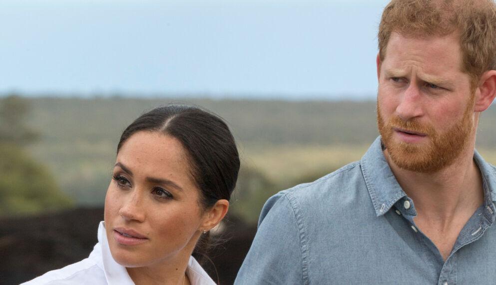 VANSKELIG TID: Prins Harry fryktet han skulle miste hertuginne Meghan. Den frykten har han ikke gitt helt slipp på ennå. Foto: REX/NTB