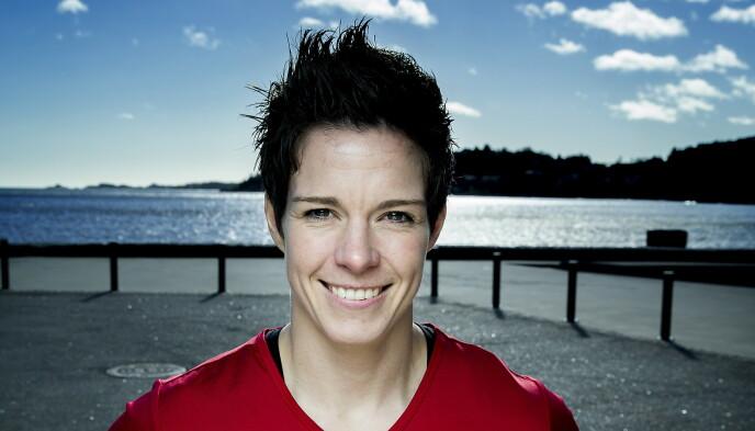 HÅNDBALLESS: Anja Hammerseng-Edin er klar til å følge opp konas «Mesternes»-suksess. Foto: Bjørn Langsem / Dagbladet