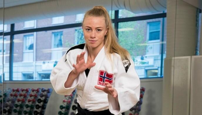 IKKE TIL Å SPØKE MED: Madelene Rubinstein er årets yngste deltaker, og har markert seg i judo. Foto: Espen Solli/Se og Hør