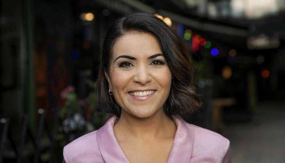 NY JOBB: Rima Iraki blir den nye programlederen i utenriksmagasinet Urix. Foto: Julia Marie Naglestad / NRK