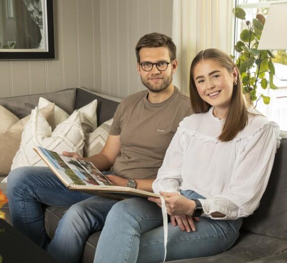 INTERIØR: Anna bruker gjerne penger på oppussing og nye møbler. Jone er mindre interessert, men deler stort sett kjærestens smak. Foto: Morten Eik