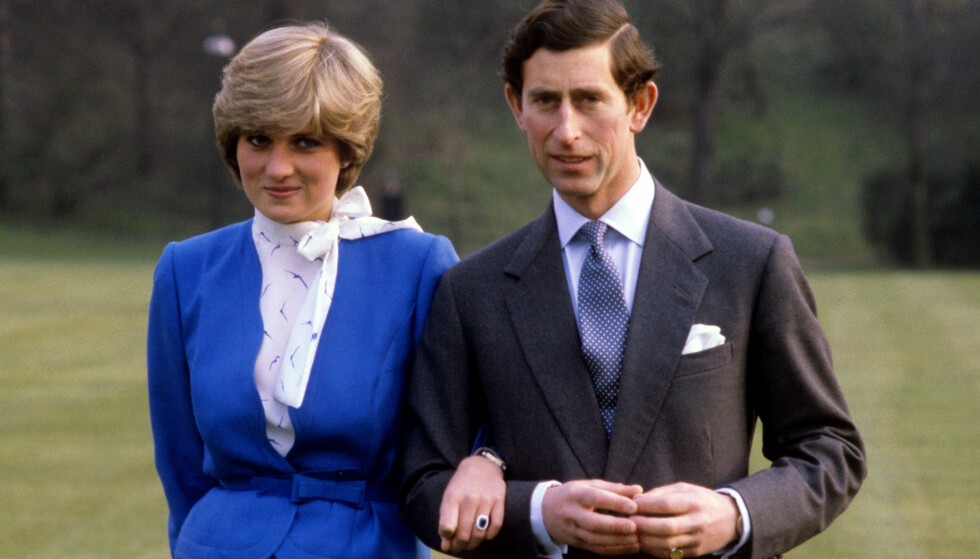 FORLOVET: 24. februar i 1981 kunngjorde prins Charles sin forlovelse med Diana. De giftet seg senere samme år. Foto: Pa Photos / NTB