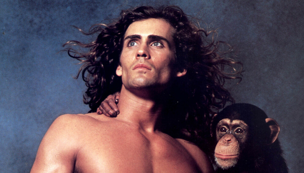 TARZAN: Joe Lara, her som Tarzan, skal ha dødd i en flykrasj lørdag. Foto: Shutterstock/NTB