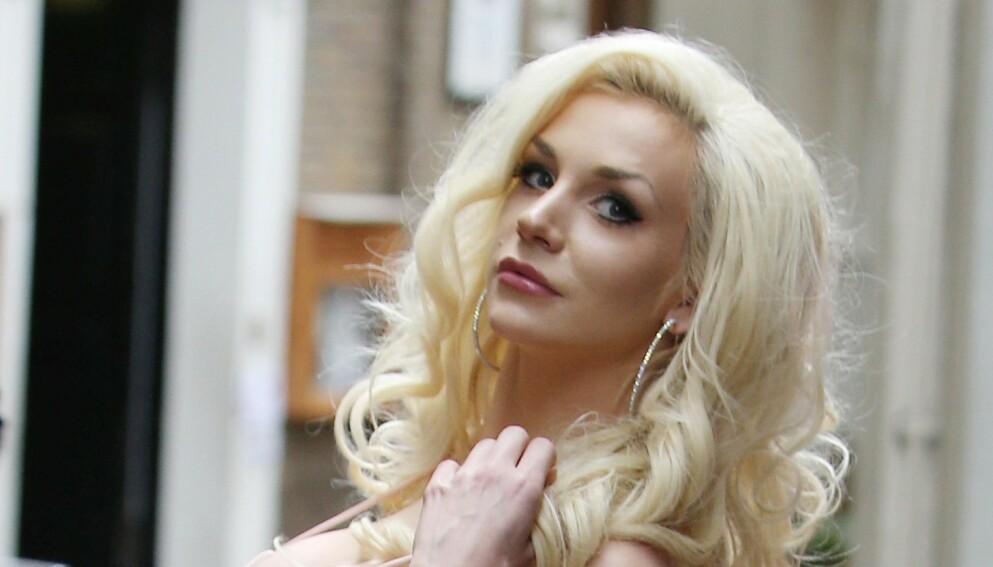 FORLOVET: Courtney Stodden ble fridd til av kjæresten i helgen. Foto: Beretta/Sims/REX/NTB