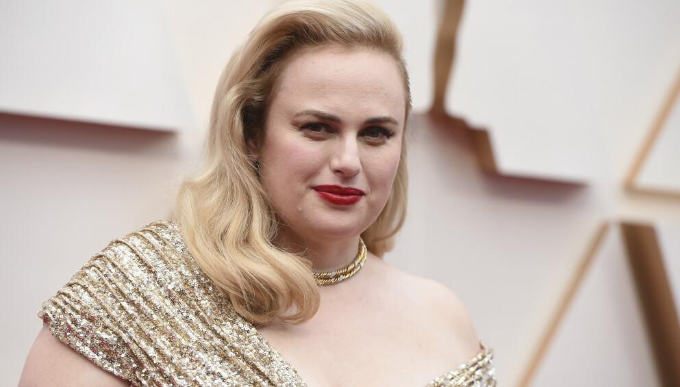 FORVANDLING: Rebel Wilson avbildet under Oscar-utdelingen i Hollywood i februar i fjor. Foto: Jordan Strauss/Invision/AP/NTB