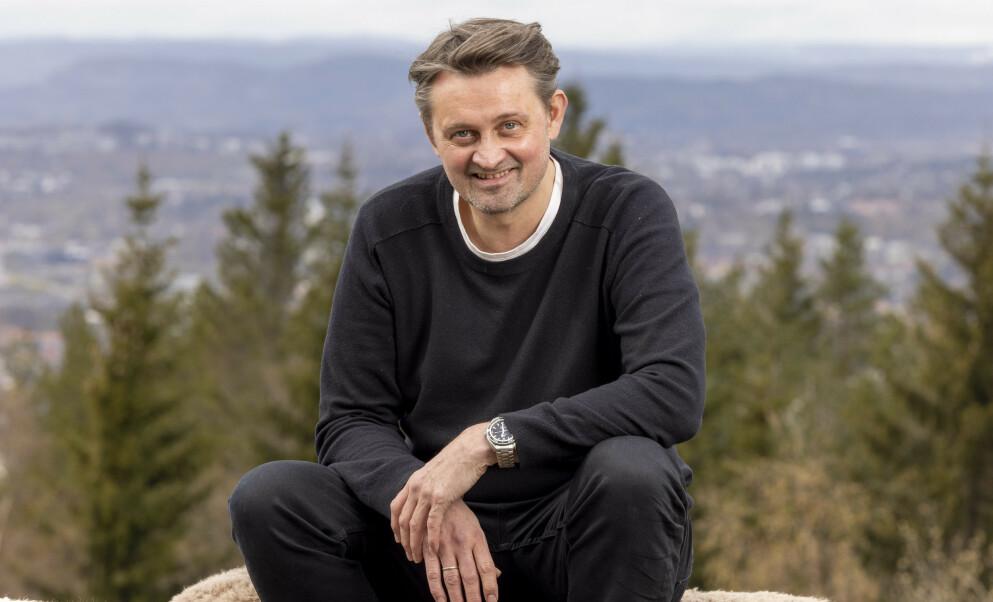 HJEM: Thomas Numme har nylig kommet hjem fra innspilling. Foto: Morten Bendiksen