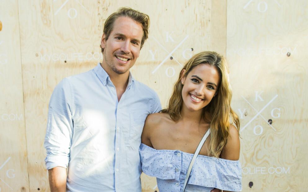FORLOVET: Emil Hegle Svendsen og Samantha Skogrand er forlovet og venter deres andre barn til sommeren. Foto: Vegard Wivestad Grtt / NTB
