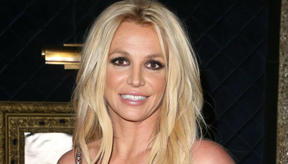 I VITNEBOKSEN: Onsdag forklarte Britney Spears seg for første gang i den juridiske striden med faren. Foto: Mediapunch/REX/NTB