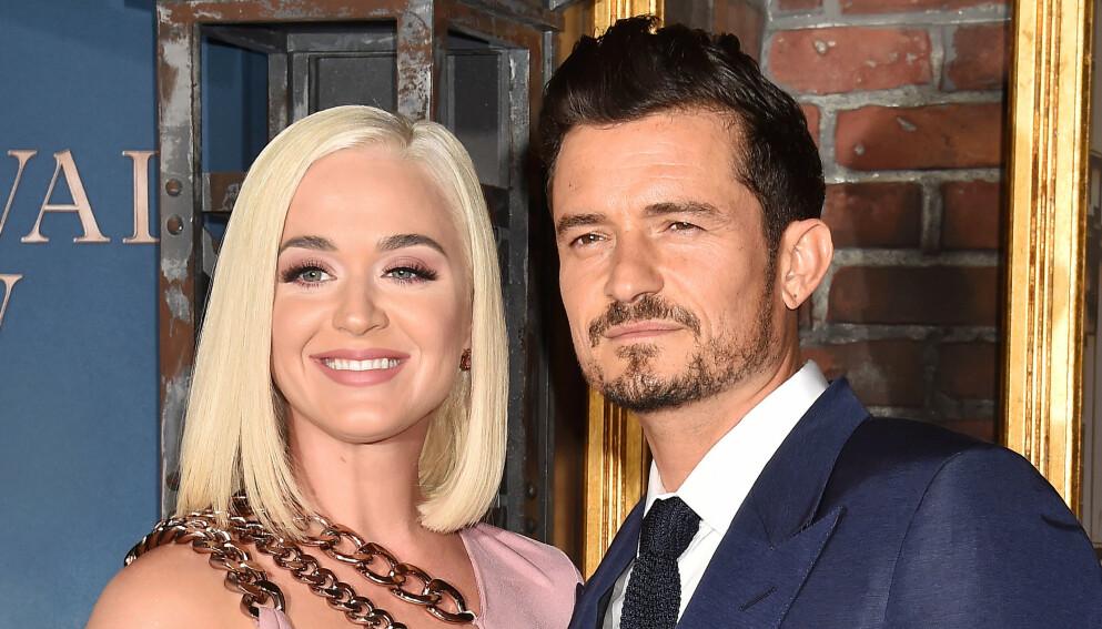 UNIKT VENNSKAP: Katy Perry og Miranda Kerr kunne vise frem sitt gode vennskap til fansen i et nytt Instagram-innlegg. Det til tross for at de begge har vært forlovet med samme mann. Foto: Broadimage/Shutterstock/NTB