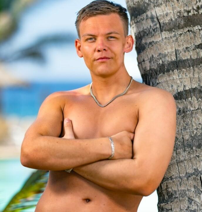KLAR FOR PARADIS: 22 år gamle Ludvig Dyreng. Foto: NENT Group