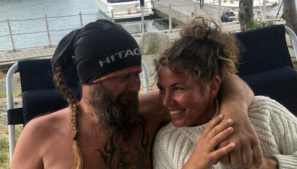 NYE STEG: Frank Tore Aniksdal og Eunike Hoksrød er klare for bryllup rett over sommeren. Foto: Privat