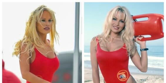 Image: Ser du hvem som er den ekte Pamela Anderson?