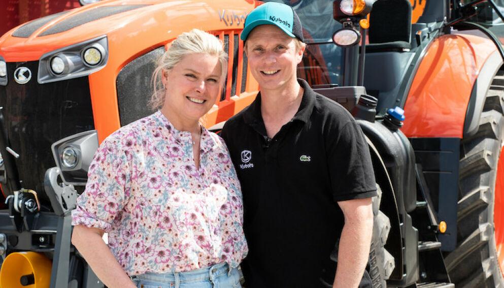 NY JOBB: Petter Pilgaard starter for seg selv, og hyller samtidig forloveden Vendela Kirsebom. Foto: Got Vision