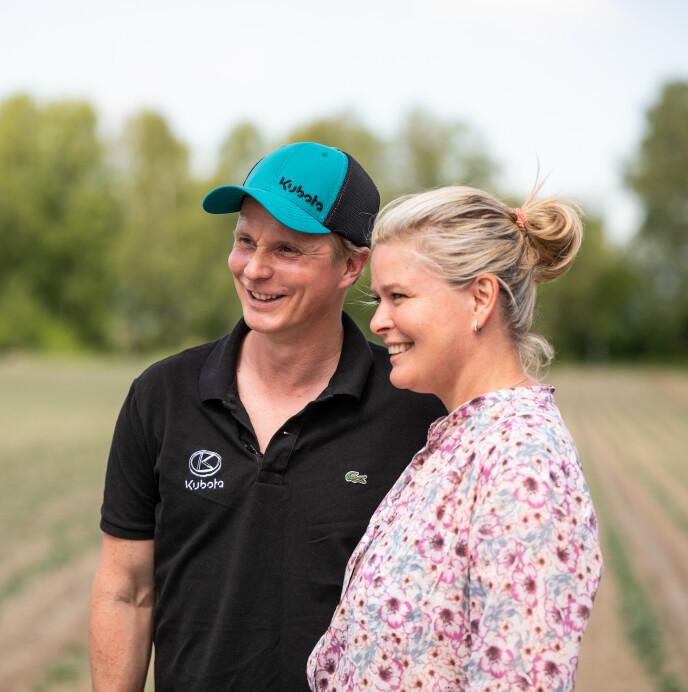 STØTTE: Petter Pilgaard legger ikke skjul på at Vendela Kirsebom har vært en viktig støtte på veien mot å få drømmen oppfylt. Foto: Got Vision