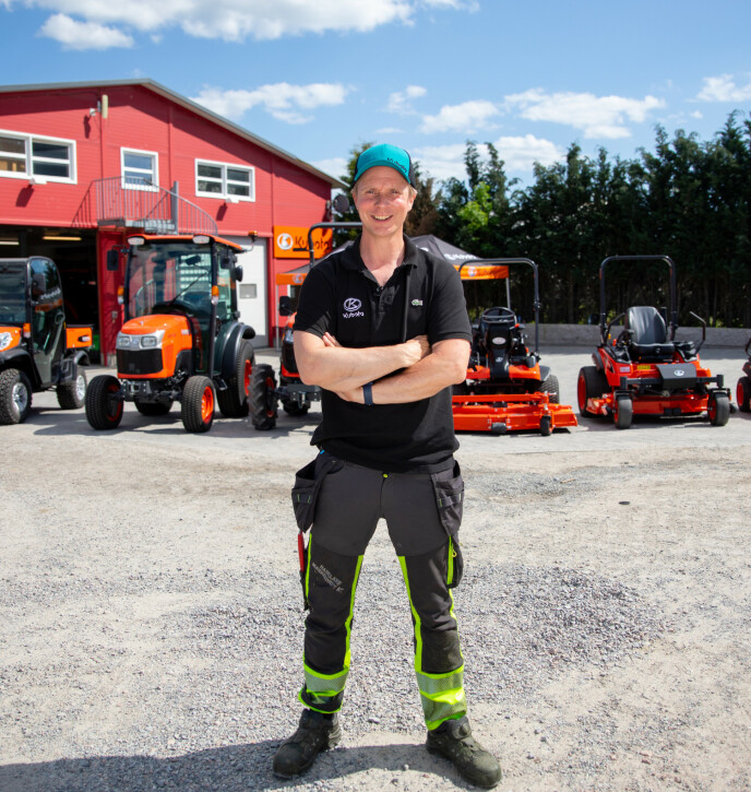 EGET SELSKAP: Petter Pilgaard går sin egen vei. Foto: Got Vision
