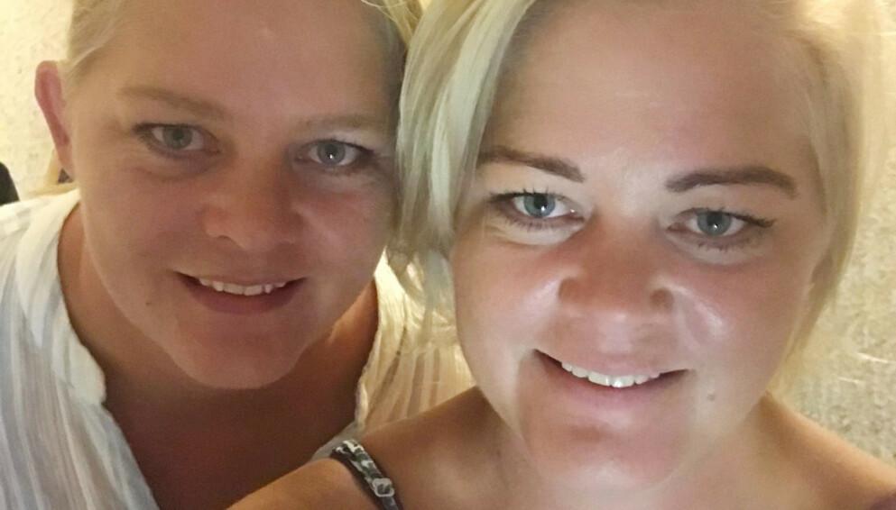 «SOMMERHYTTA»: Tvillingene Trine og Trude Rishaug Lium har fått flere frierbrev etter deltakelsen i det populære TV-programmet, men har ingen hast med å finne seg en bedre halvdel. Foto: Privat