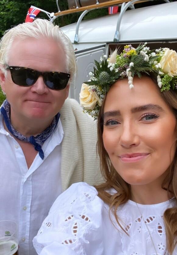 NYTT FORSØK: Parets bryllupsplaner ble utsatt med ett år, nå forteller Fjeldheim at de prøver igjen. Foto: Privat / Øyvind Fjeldheim