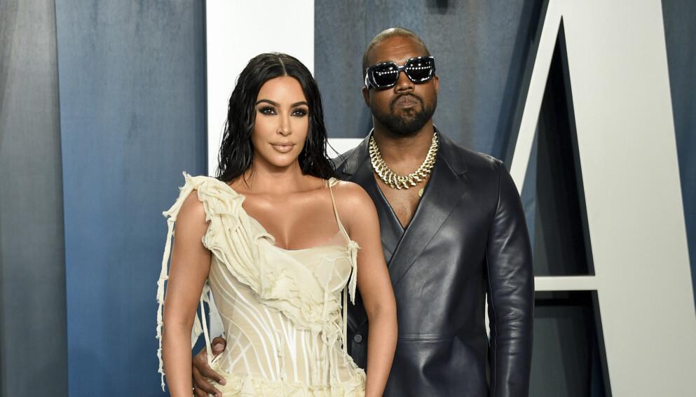 BRUDD: I vinter gikk Kim Kardashian og Kanye West fra hverandre etter syv års ekteskap. Foto: Evan Agostini/Invision/AP/NTB