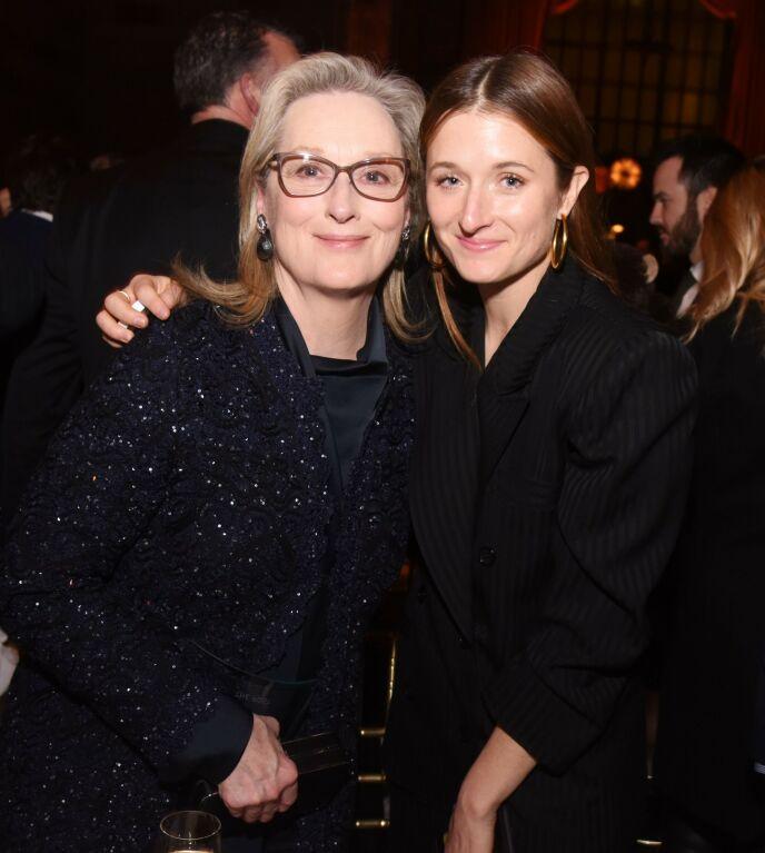 VERDENSKJENT: Grace er datter av skuespiller Meryl Streep, som nå altså blir Mark Ronsons svigermor. Foto: Stephen Lovekin/REX/NTB
