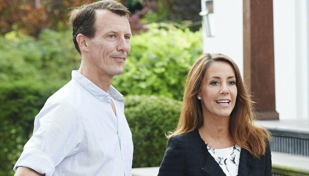 UPOPULÆR SKATTEUTGIFT: Halve den danske befolkningen mener prins Joachim bør kvitte seg med apanasjen. Her med kona, prinsesse Marie. Foto: Lars Ronbog / Shutterstock Editorial / REX / NTB