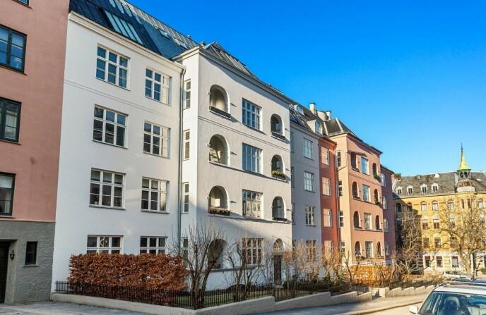 ATTRAKTIVT STRØK: Sissel Kyrkjebø og Ernst Ravnaas har solgt leiligheten sin på Gimle i Oslo. Foto: Studio Oslo