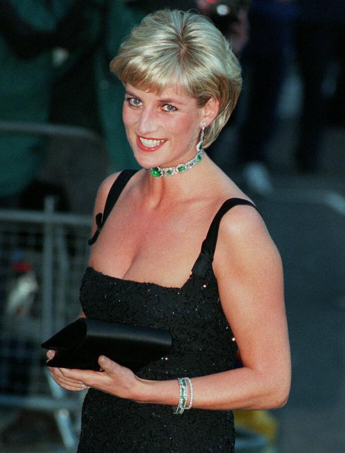 OMKOM: Prinsesse Diana ble bare 36 år gammel. Dette bildet av henne ble tatt samme år som hun døde, i 1997. Foto: AP