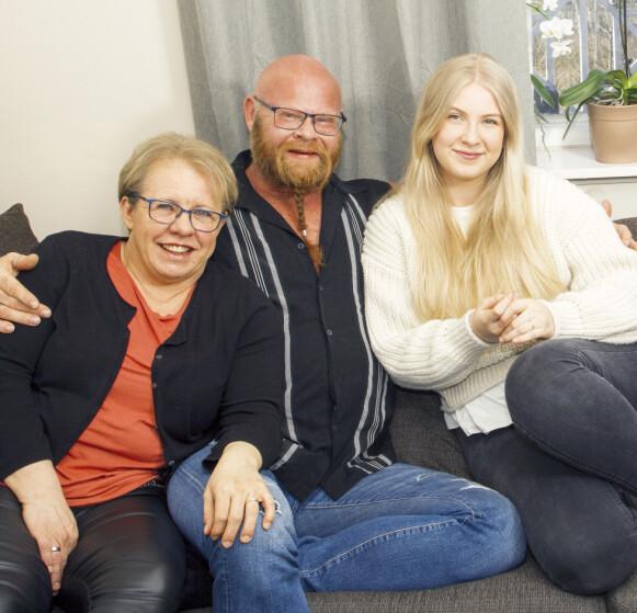 ET GODT LIV: Turil er glad for at ektemannen har fått orden på livet. Nå gleder hun seg til å se både Kjell Eivind og datteren Hilma Bråthen i en rolle i neste sesong av TV-serien «Beforeigners» på HBO. Foto: Svend Aage Madsen