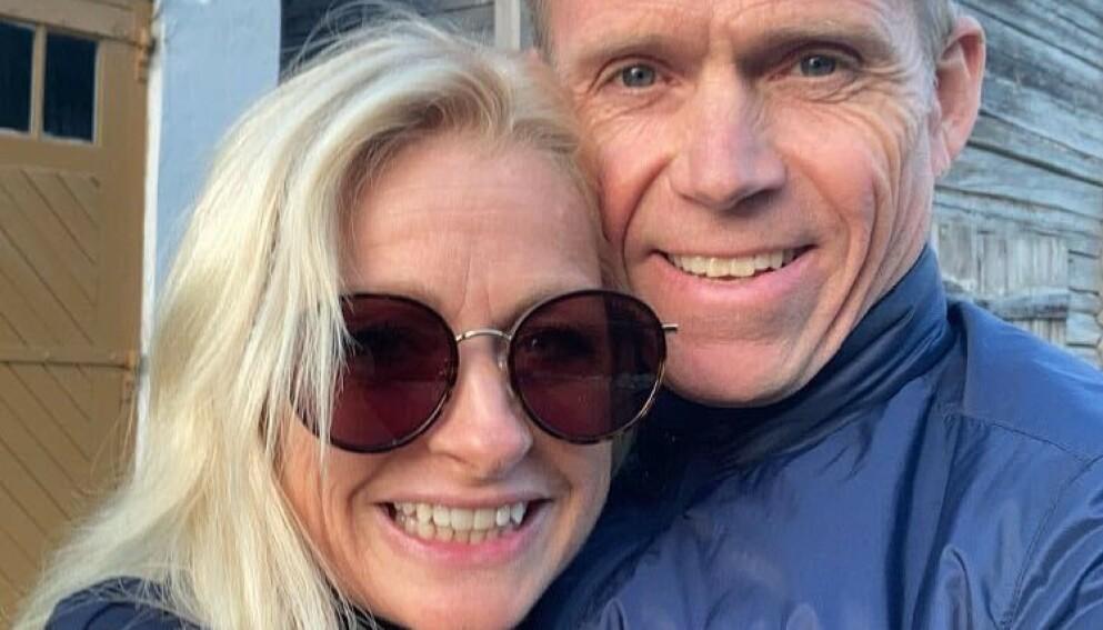 SNART GIFT: Merete Lingjærde og Anders Mørk forlovet seg i november i fjor. Nå er det snart duket for bryllup. Foto: Privat