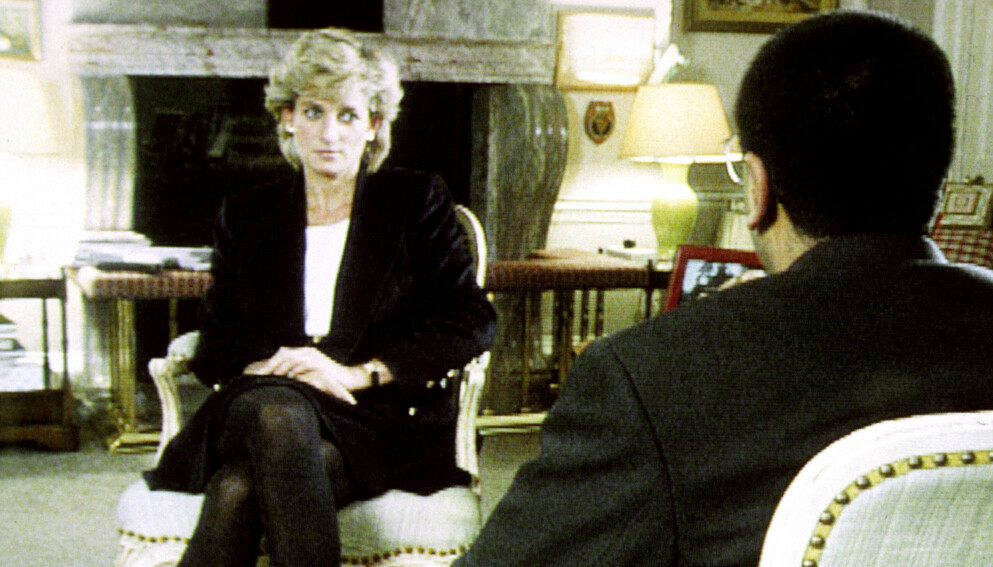 SLUTTET: BBC-journalisten Martin Bashir har fått mye oppmerksomhet for Diana-intervjuet han gjorde i 1995. Tidligere i år sluttet han i kanalen. Foto: Pa Photos / BBC / NTB