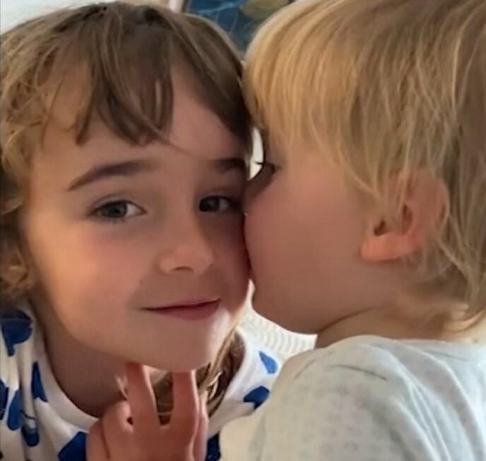 FUNNET: Olivia Gimeno Zimmermann ble funnet på havets bunn torsdag. Politiet leter fortsatt etter 1-åringen. Foto: Skjermdump/Video
