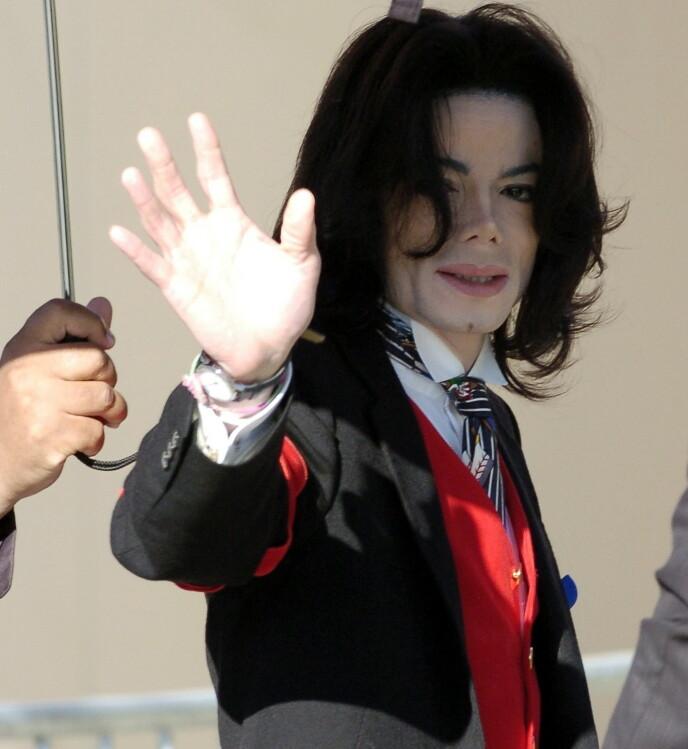 STOR KARRIERE: Michael Jackson vil alltid bli husket for sin musikk. Popkongen gikk bort i 2009. Foto: Phil Klein / Reuters