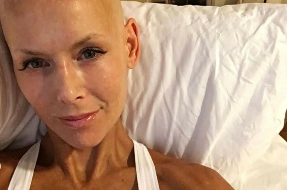 GLADMELDING: Gunhild Stordalen ble i 2014 diagnostisert med sykdommen systemisk sklerose. I dag deler hun en gladnyhet med følgerne sine. Foto: Gjengitt med tillatelse fra Instagram