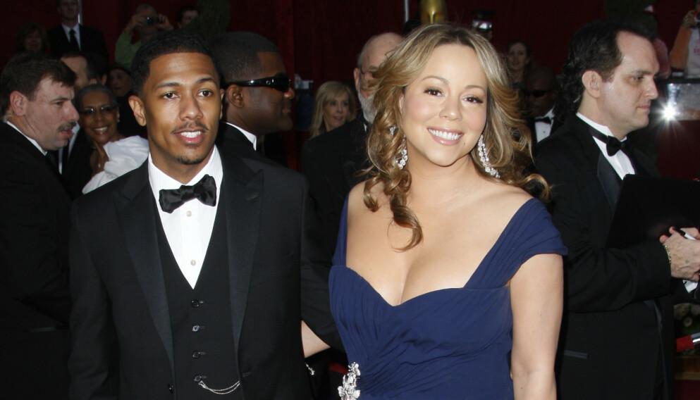 TOK SLUTT: Seksbarnspappa Nick Cannon var i seks år gift med superstjernen Mariah Carey. Men skuespilleren har ikke ligget på latsiden etter bruddet, akkurat. Foto: Peter Brooker / REX / NTB