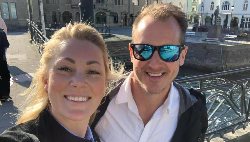 FLYTTER: Karianne Amlie Wahlstrøm er på flyttefot. Her sammen med kjæresten, «Farmen»-vinner Per Gunvald Haugen. Foto: Privat