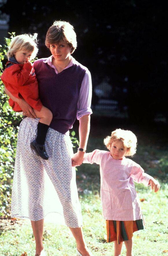 OPS: Diana med samme «blemme» i 1980. Foto: REX/NTB