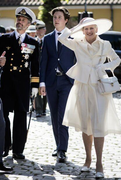 - KAN SKJE ALLE: Kongehusekspert sier dronningen fikk litt av hvert å hanskes med, men at skjørteblemmen kan skje alle. Foto: Tim Kildeborg Jensen/Ritzau Scanpix/NTB