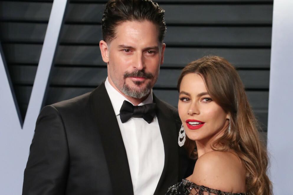 SOFIA VERGARA: Skuespiller Sofia Vergara og Joe Manganiello på Oscarfest i 2018. Foto: Matt Baron / Shutterstock Editorial / NTB