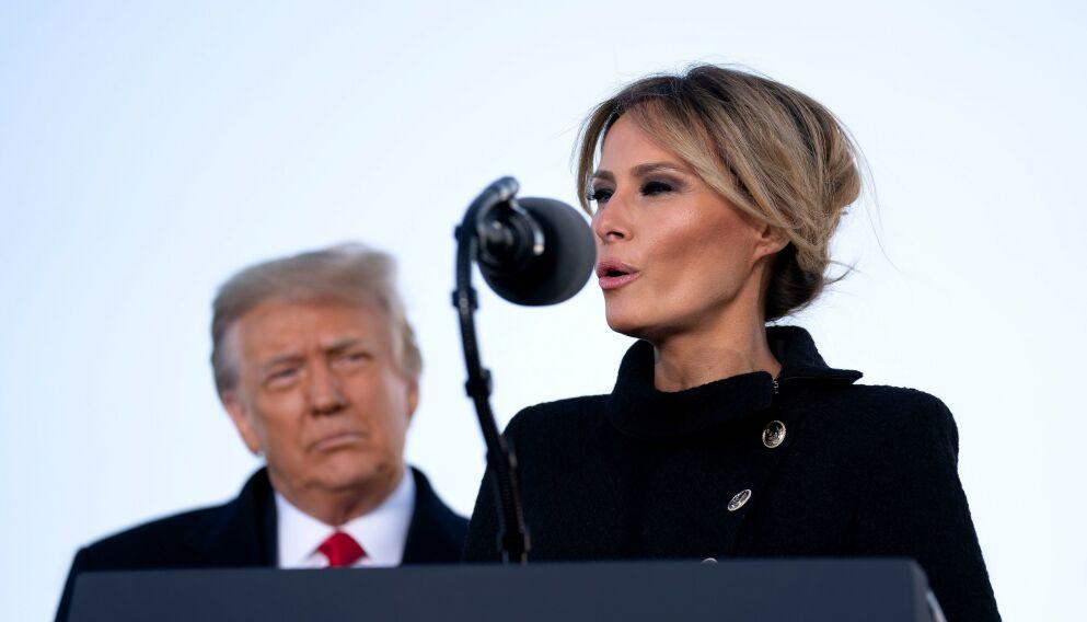 SUNKET I JORDA?: Det har vært stille fra Melania Trump det siste halvåret. Nå lurer mange på hva hun holder på med. Foto: Shutterstock / NTB