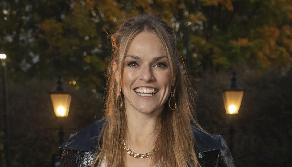 TOBARNSMOR: Anine Stang venter sitt andre barn. Foto: Tore Skaar/Se og Hør