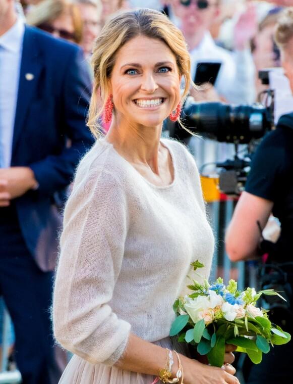 ENDELIG HJEMME: Prinsesse Madeleine og familien befinner seg for tiden i Sverige. Foto: Shutterstock Editorial / NTB