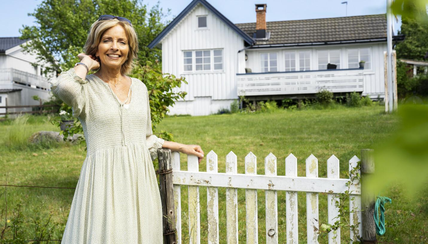 HER BOR JEG: Hanne Kristin Rohde har kjøpt ny hytte, og skal nyte sommeren der. Nå forteller hun åpent om sin imponerende karriere. FOTO: Espen Solli