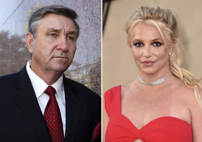 VERGE: Britney Spears verger skal ha vært bekymret for sangfuglens helsetilstand. Foto: AP Photo