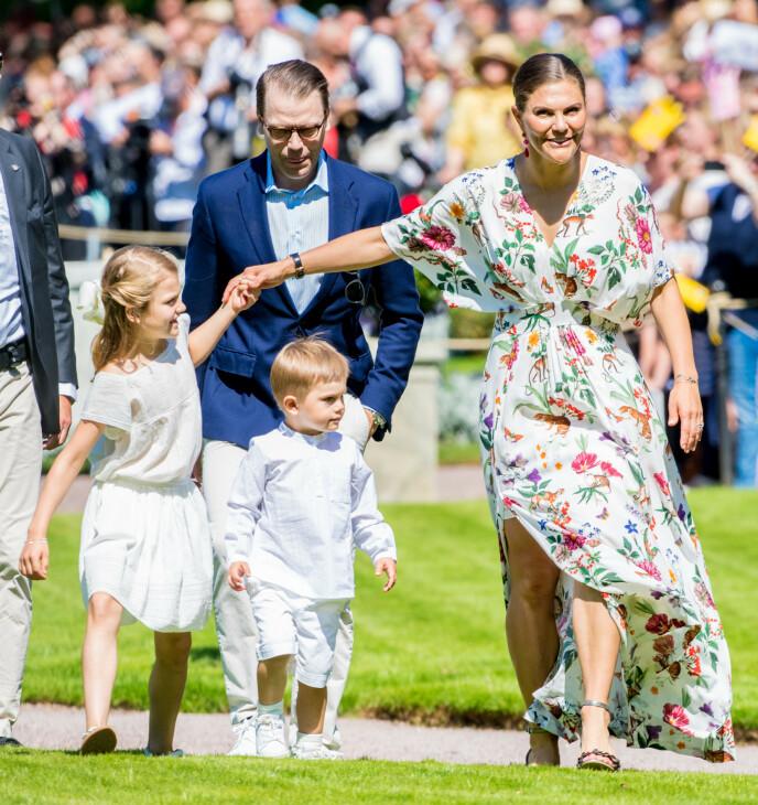 2019: Om et par uker samles den svenske kongefamilien nok en gang til feiring på Öland. Her i 2019. Foto: Splash News / NTB