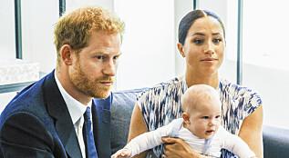 Image: - Meghan bruker babyen i kynisk spill