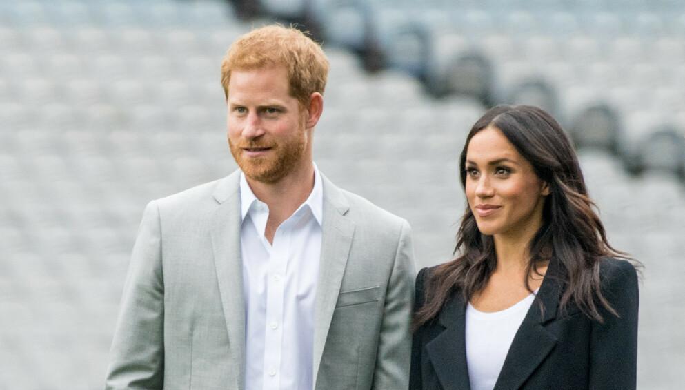 HANS KONGELIGE HØYHET: Prins Harry og hertuginne Meghan får nok en gang oppmerksomhet i media. Denne gang for fødselsattesten til datteren Lilibet. Foto: Splash News /NTB