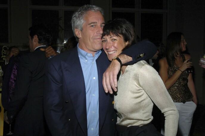 VAR SAMMEN: Jeffrey Epstein og Ghislaine Maxwell var kjærester i sin tid. Foto: Patrick McMullan / Getty Image