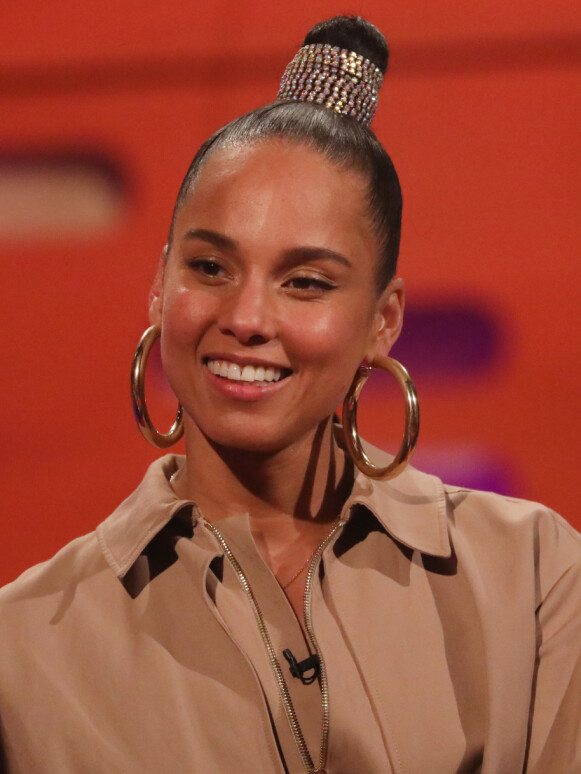 AUGELLO COOK: Alicia Keys' egentlige navn er Alicia Augello Cook. Foto: Isabel Infantes / Pa Photos / NTB